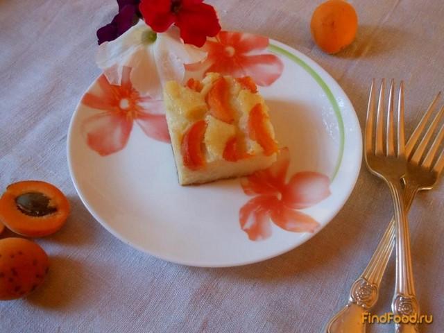 Рецепт Манная запеканка с абрикосами рецепт с фото