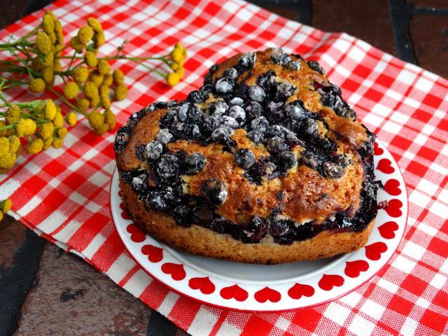 Рецепт Пирог с голубикой рецепт с фото
