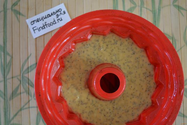 пирог на кефире с маком рецепт с фото