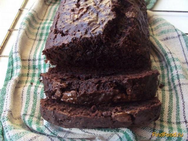 Рецепт Шоколадный хлеб с цукини рецепт с фото