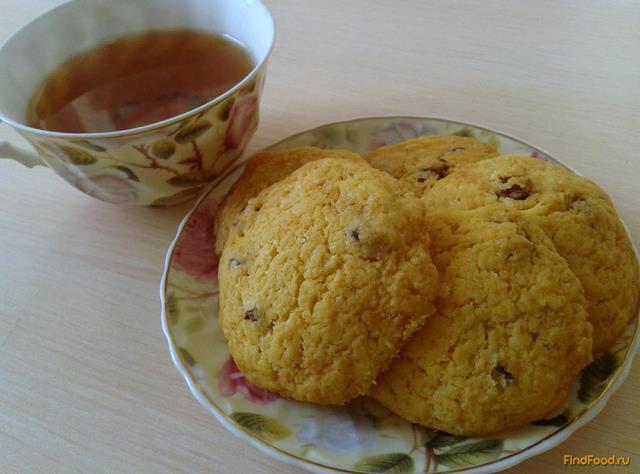 Песочное печенье на маргарине с изюмом рецепт с фото 8-го шага