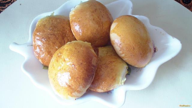 Рецепт Пирожки со сливами рецепт с фото