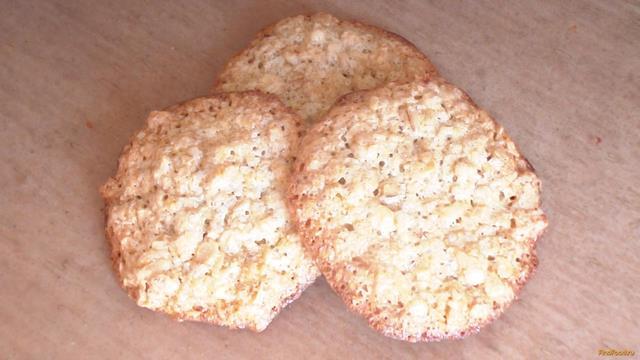 Рецепт Овсяное печенье на растительном масле рецепт с фото
