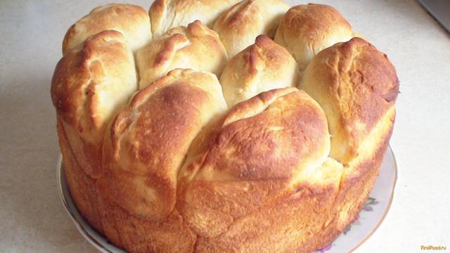 Рецепт Пирог из пирожков с маком и медом рецепт с фото