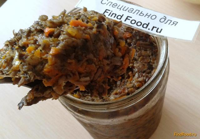 рецепт грибной икры закусочная