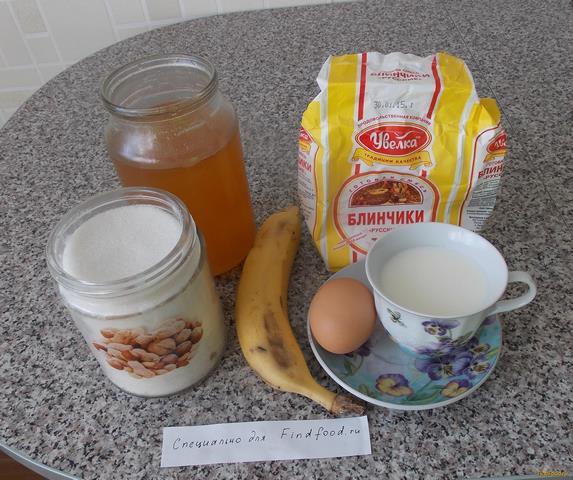 банановые оладьи без муки рецепт с фото пошагово