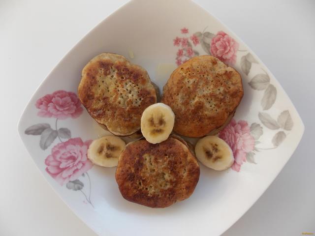 Рецепт Банановые оладьи с медом рецепт с фото