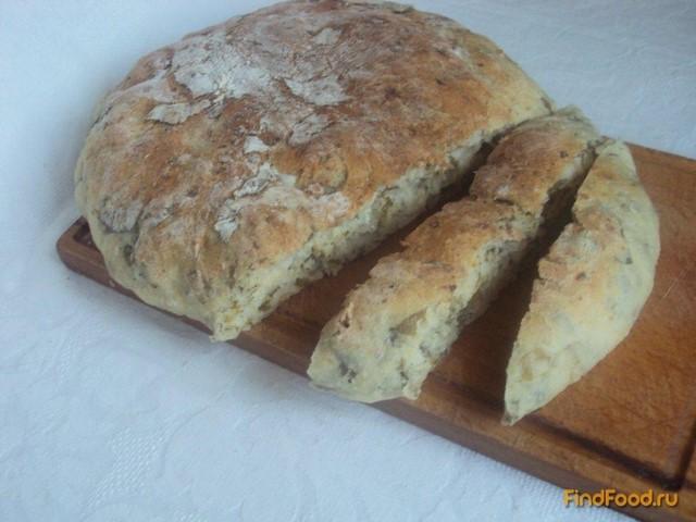 Рецепт Хлеб со шпинатом и козьим сыром рецепт с фото