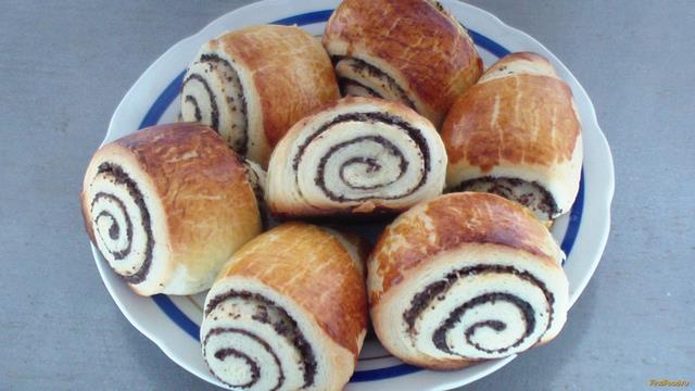 Рецепт Пирожки с маком рецепт с фото