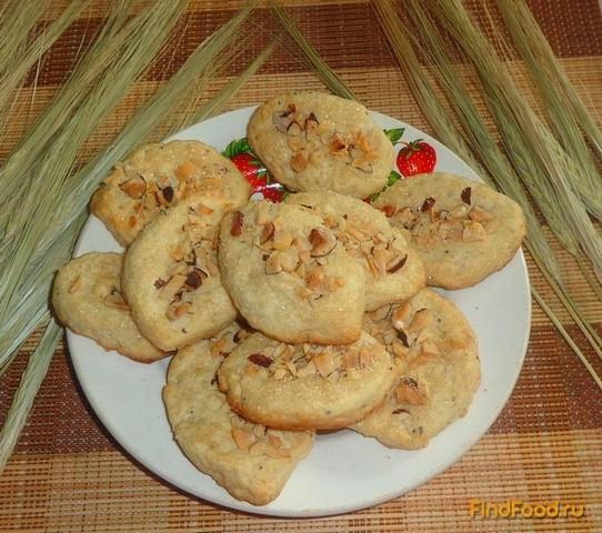 Рецепт Арахисовое печенье рецепт с фото