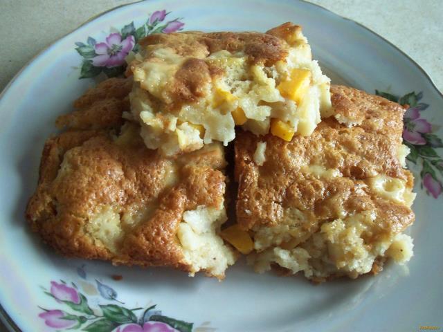 Рецепт Шарлотка из тыквы и яблок рецепт с фото