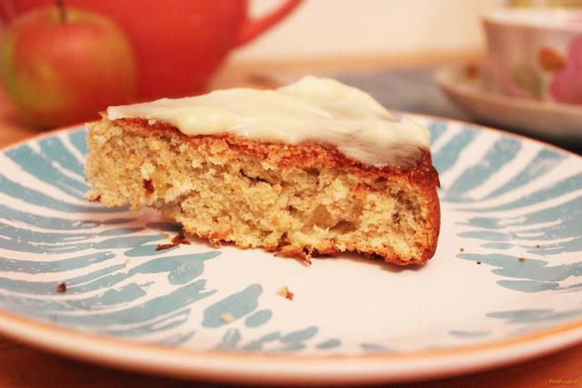 Рецепт Яблочный бисквит рецепт с фото