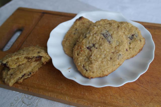 Рецепт Овсяное печенье с тыквой рецепт с фото