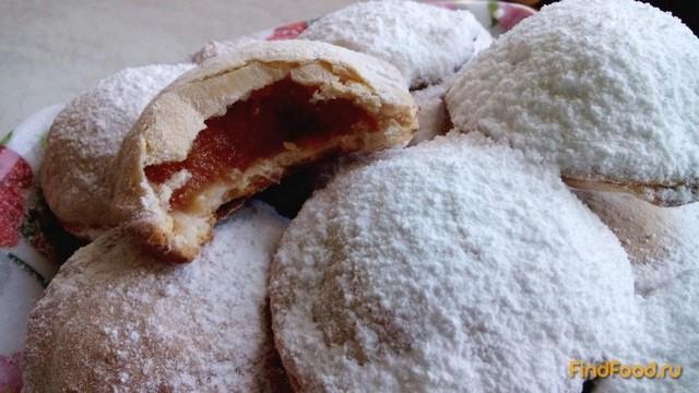 Рецепт Творожное печенье с айвой рецепт с фото