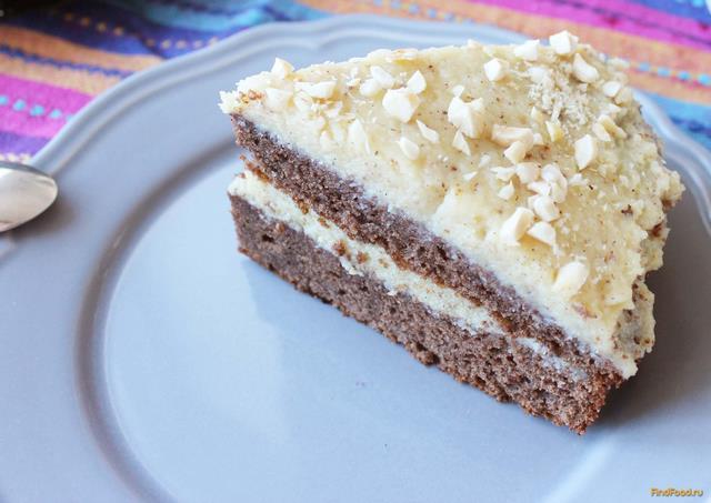 Рецепт Гавайский торт с кремом шантильи рецепт с фото