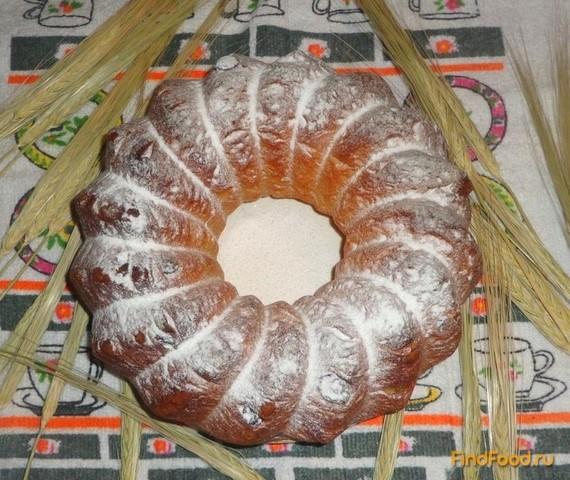 Рецепт Дрожжевой кекс с изюмом рецепт с фото