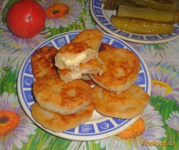 Рецепт Оладьи с плавлеными сырками рецепт с фото