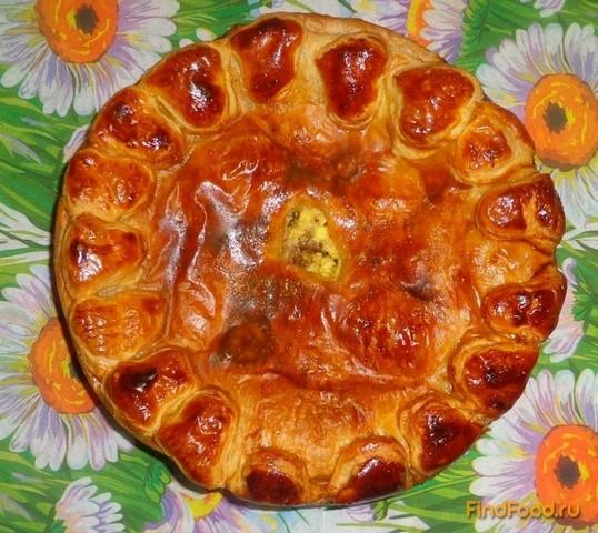 Рецепт Слоеный пирог с уткой рецепт с фото