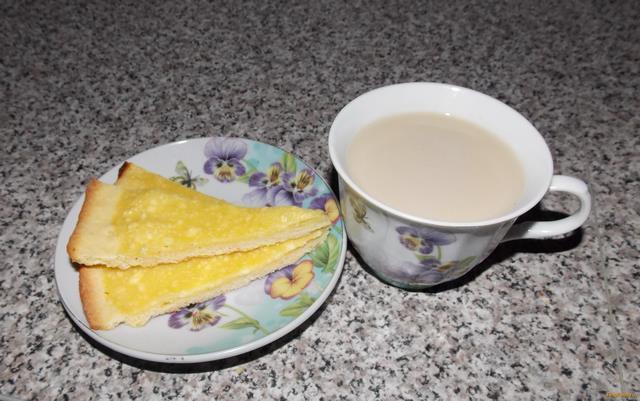 Рецепт Творожно - ванильная ватрушка рецепт с фото