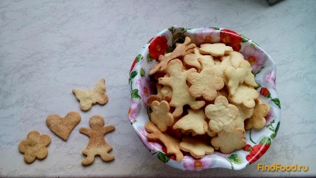 Рецепт Мандариновое печенье рецепт с фото