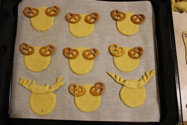 Печенье олень рецепт с фото 4-го шага