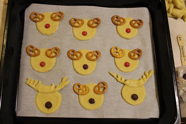 Печенье олень рецепт с фото 5-го шага