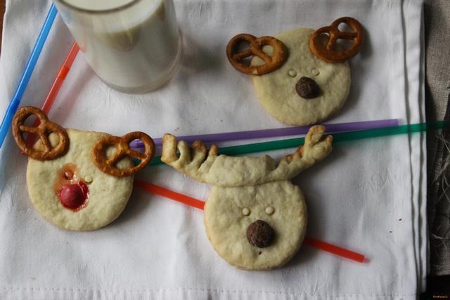 Печенье олень рецепт с фото 7-го шага