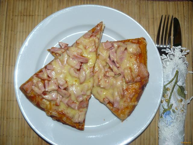 Рецепты приготовления пиццы с вареной колбасой байкал финанс новости