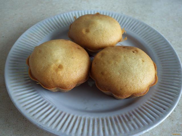 Рецепт медовых кексов в силиконовых формочках пошагово 81