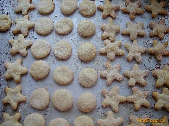 Сахарное печенье на маргарине рецепт пошагово