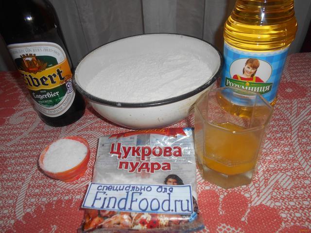 хворост рецепт с фото на пиве