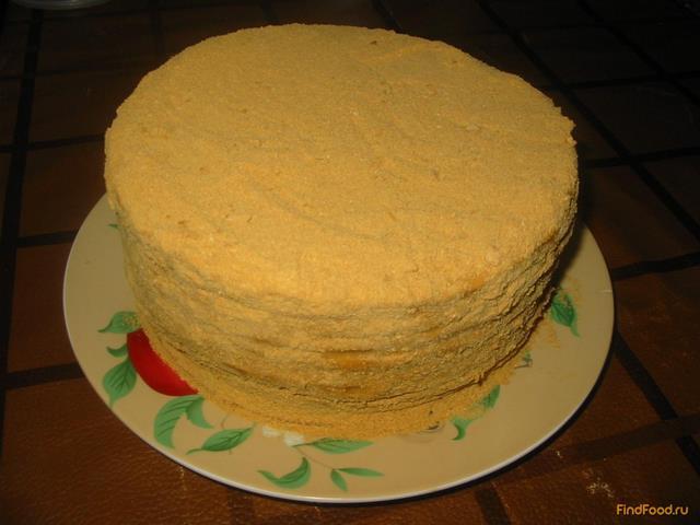 Торт домашний со сгущенкой домашний рецепт пошагово