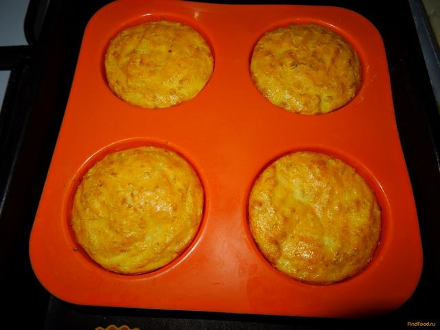 Диетические творожные кексы рецепт с фото 6-го шага