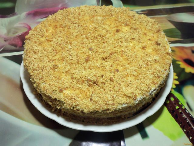 Коржи для медового торта рецепт