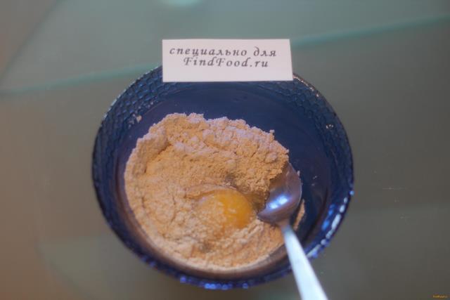 Шоколадный овсяноблин с творогом рецепт с фото 2-го шага