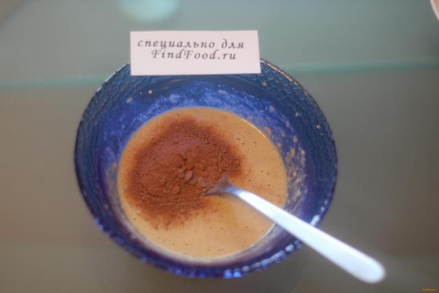 Шоколадный овсяноблин с творогом рецепт с фото 4-го шага