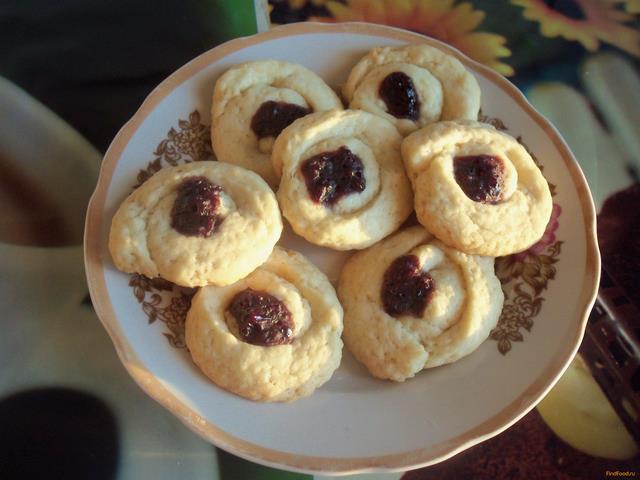 рецепт приготовления печенья курабье
