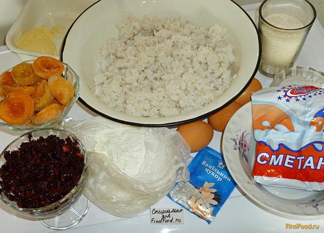 Как приготовить запеканку рис творожная