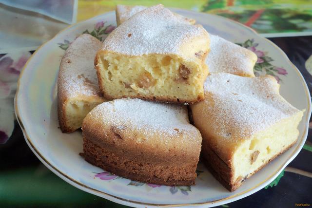 Кексы с творогом и изюмом рецепт с пошагово