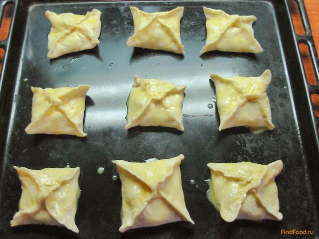 Готовое слоеное тесто с ягодами рецепт