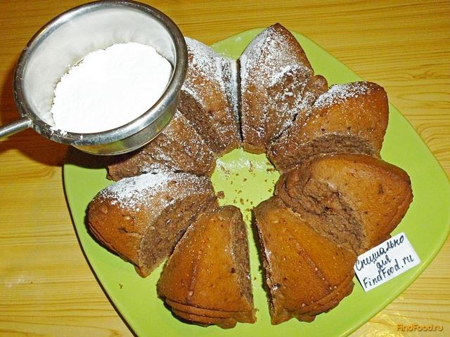 Манник на кефире шоколадный пошаговый рецепт с