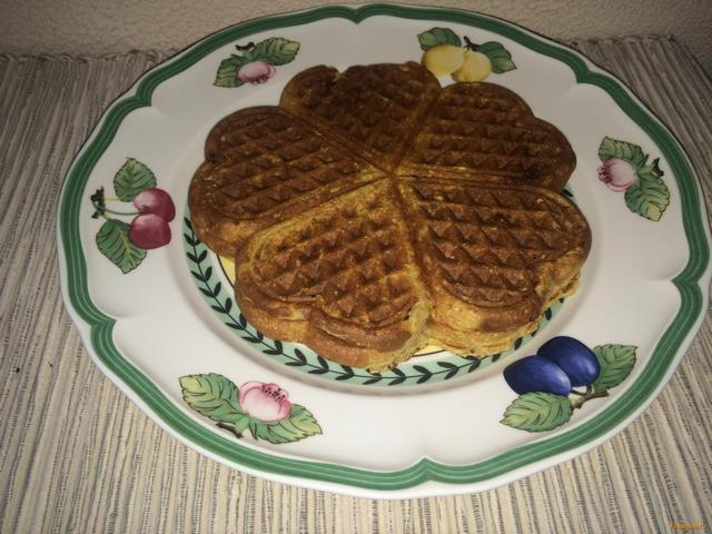 рецепт приготовления вафель на вафельнице