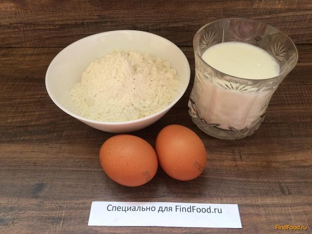 Блины на молоке 1 литр рецепт с пошагово в