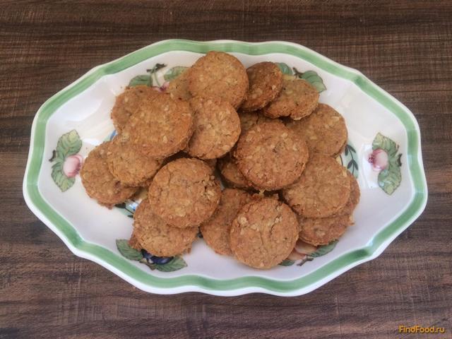Овсяные печенья без масла рецепт с пошагово