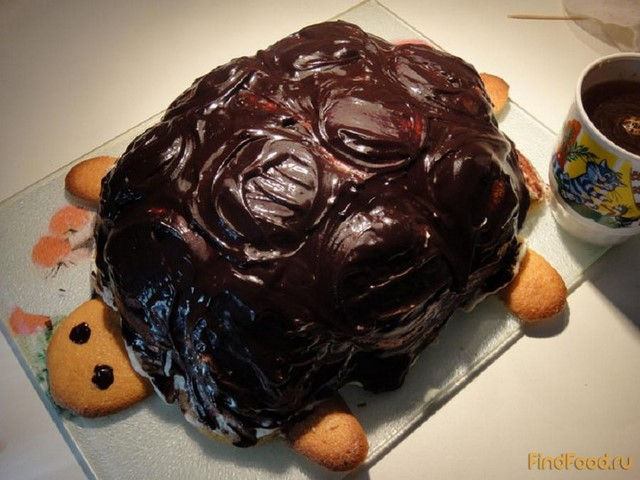 Фото торт черепашка в домашних условиях