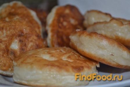 Пышные оладьи без яиц рецепт с фото 7-го шага