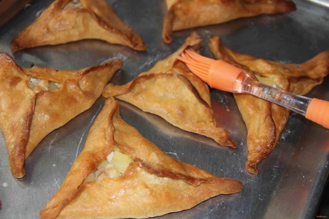 Курники с курицей и картофелем рецепт с фото 14-го шага