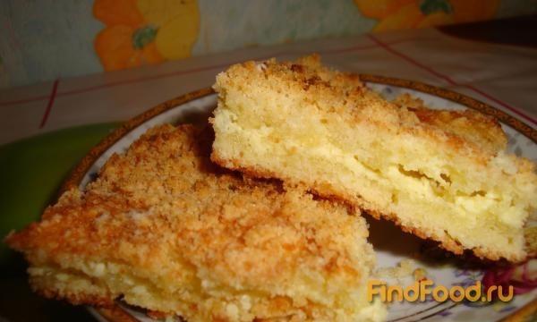 Пирог из крошки