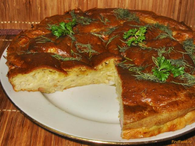 Капустный пирог на кефире рецепт с фото: http://findfood.ru/recept/kapustnii-pirog-na-kefire