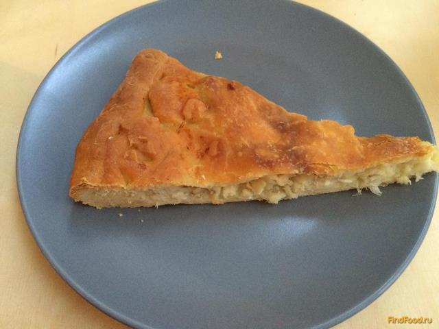 Рецепт рыбного пирога с на кефире